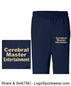 NAVY BLUE SWEAT PANTS Design Zoom