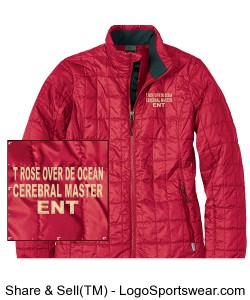 T ROSE OVER DE OCEAN JACKET Design Zoom
