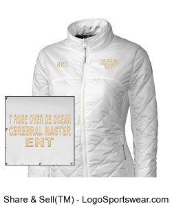 Honey Bee CREAM AND WHITE JACKET Design Zoom