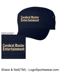 Cerebral Master Entertainment NEW Hats Design Zoom