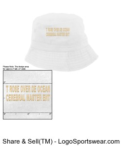 CREAM AND WHEAT BUCKET HAT Design Zoom